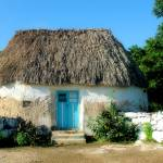 """Typical rural home of the mayan descendants"" by Auero"