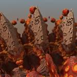 """Sea's acorns from Orange Sea.  2012  80/64 cm."" by arttauta"