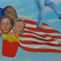 American Eats Art Prints & Posters by Claude Buckley
