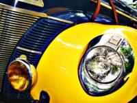 Blue and Yellow Speedster