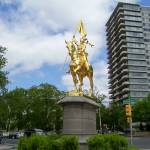 """Joan of Arc Statue, Philadelphia, Pennsylvania"" by Marysvision"