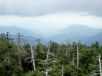 Smoky Mountain View from Clingman's Dome Tennessee