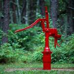 """Hand Pump At Zippel Bay State Park"" by AjRagno"