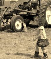 Little Girl  Ranch Hand