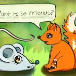 """Want To Be Friends?"" by sonadora"