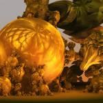 """The unique history of pumpkin. 2012 90/52 cm."" by arttauta"
