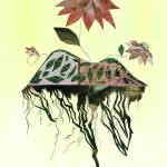 """Uprooted Flowers"" by pirateforpeaceprints"