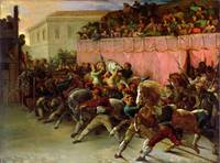 The Riderless Racers at Rome