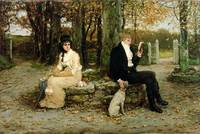 The Waning Honeymoon, 1878 (oil on canvas)