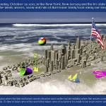 """Hurricane Sandy 2012 Poster"" by WallArtDeco"