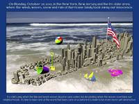 Hurricane Sandy 2012 Poster