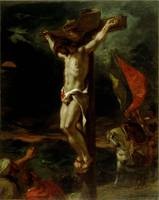 Christ on the Cross, 1846 (oil on canvas)