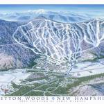 """Bretton Woods, New Hamshire"" by jamesniehuesmaps"