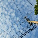 """Skyward Utility Pole Landscape"" by CuriousEye"