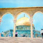 """Dome of the Rock on Temple Mount"" by ShaSha"