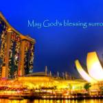 """God Bless, Marina Bay Sands Singapore  2"" by sghomedeco"