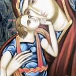 Madonna & Child Icon by Leapdaybride Visual Arts