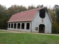 Old-fashioned barn