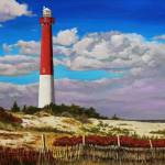 """Barnaget Lighthouse"" by carvalhoart"