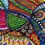 """Zentangle Drawing"" by angela_crosby"