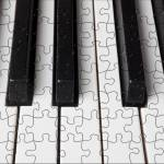 """Piano keys jigsaw"" by photogarry"