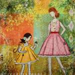"""Springtime Inspirational Children art Janelle Nich"" by JanelleNichol"