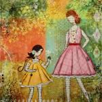 """""""Springtime Inspirational Children art Janelle Nich"""" by JanelleNichol"""