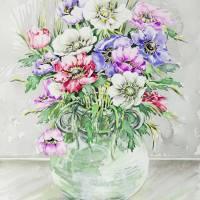 Live Spring Flowers Art Prints & Posters by Maja Radočaj