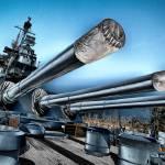 """USS North Carolina Battleship"" by Cbowman"