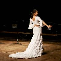 Flamenco - Lady in white Art Prints & Posters by Vladimir Fomin