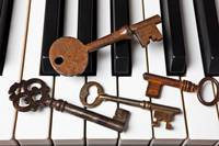 Four skeleton keys