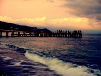 Black Sea / Twilight Fishing Pier