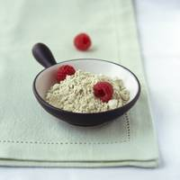 Raspberries & Wasabi Powder