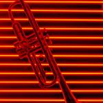 """Trumpet and red neon"" by photogarry"