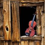 """Violin in window"" by photogarry"