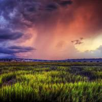 Fire and Rain | Hilton Head Photography by Jim Crotty
