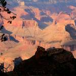 """Sunlight and Shadows From Bright Angel Trail IMG_1"" by rayjacque"