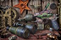 Steampunk still life