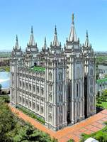 6 LDS Salt Lake City Temple