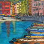 """Vernazza, Cinque Terre"" by Jackie-Sherwood-Artist"