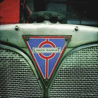 Vintage London Transport Bus Detail