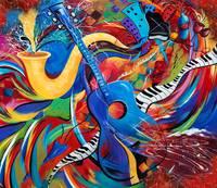 stunning guitar artwork for sale on fine art prints