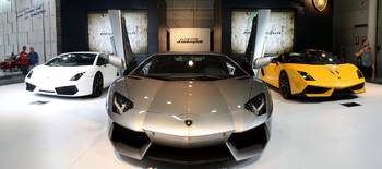 HD Three Lamborghini super cars