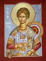 St Dimitrios the Myrrhstreamer