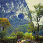 """Foot Bridge-China"" by joegemignani"