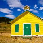 """Yellow School House"" by lightningman"