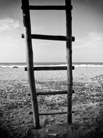 Beach Hut Ladder