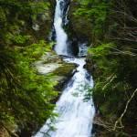 """November Ice at Moss Glen Falls"" by chrisromano"