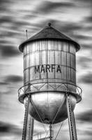 Marfa (Dusk) - watertower