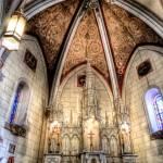 """Inside Loretto Chapel Sante Fe"" by Gold41"